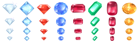 Large Crystal Icons
