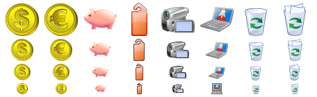 Standard Business Icons
