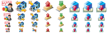 Standard Logistics Icons