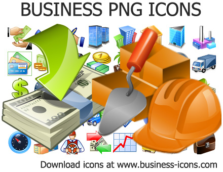 Business PNG Icons