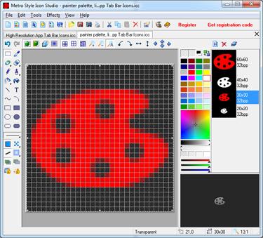 A new, user friendly icon studio for Win8